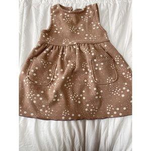 ZARA Baby || Soft Pink Dotted Dress